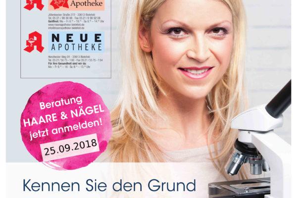 Haar- und Nagelberatung am 25.09.2018 in der Rosen-Apotheke